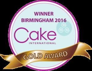 Voitimme Iron Maiden kakkuveistoksella kultaa Cake International 2016 kilpailussa Englannin Birminghamissa.
